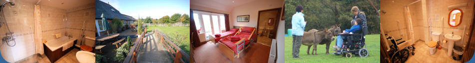 The Red Barn, Rookley - self catering accommodation with access for disabled guests
